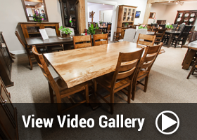 Rustic Furniture Video Gallery of Mennonite Furniture in Ontario at Lloyd's