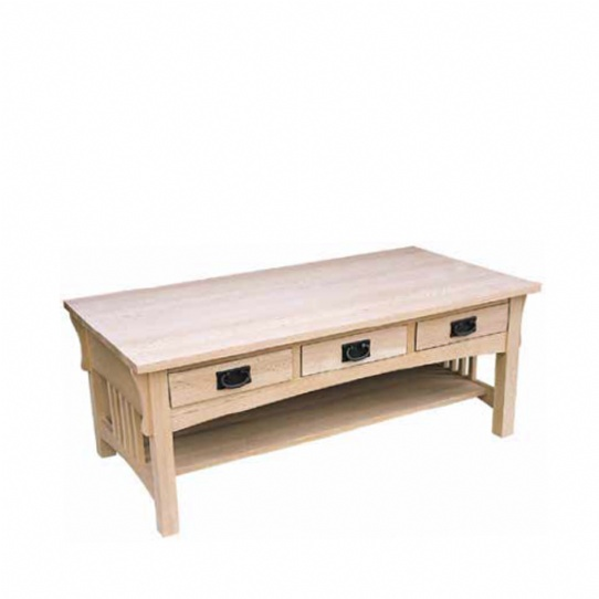 Mission Coffee Table Mennonite Furniture Ontario at Lloyd's Furniture Gallery in Schomberg